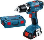 Bosch GSR 18-2-LI Professional 2x 1,3Ah + L-Boxx