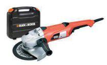 Zobrazit detail - Black&Decker KG2000K - 230mm, 2000W, 8,9kg, kufr, úhlová bruska