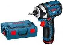 Zobrazit detail - Bosch GDR 10,8-LI Professional - 2x 10.8V/1.3Ah, 105Nm, 1.0kg, aku rázový utahovák