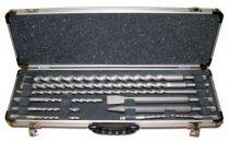 Zobrazit detail - 10-dílná sada vrtáků a sekáčů do kladiv SDS-Plus Makita D-21191