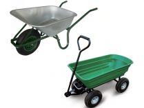 Zahradní vozíky a kolečka