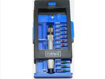 """Zobrazit detail - 26-dílná sada MIKRO bitů Narex 25mm 5/32"""" (E4) v pouzdře s barevným odlišením"""