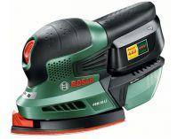 Zobrazit detail - Aku multibruska Bosch PSM 18 LI - 1x 18V/2.0Ah, 1.3kg, aku vibrační bruska