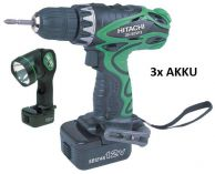HITACHI DS12DVF3 - 3x 12V/1.4 Ah + SVTILNA
