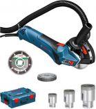 Zobrazit detail - Bosch GCT 115 Professional set el. řezačka dlaždic/vrtačka, úhlová bruska