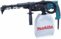 Zobrazit detail - Kombinované kladivo Makita HR2432 - 780W; 2,2J; 3kg, pneumatické kladivo SDS-Plus s odsáváním