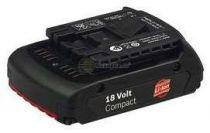 Zásuvný akumulátor Bosch 18V/1,3 Ah Li-ion Professional