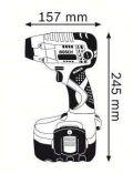 Bosch GDS 18 V Professional aku rázový utahovák