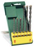 Zobrazit detail - 6-dílná sada vrtáků do kladiv SDS-Plus S2 Bosch