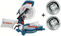 Zobrazit detail - Bosch GCM 10 J Professional + 2x pilový kotouč Multi Material, pokosová pila