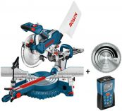 Zobrazit detail - Pokosová pila Bosch GCM 10 SD Professional + DLE 40 + kotouč Optiline Wood