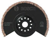Zobrazit detail - Segmentový pilový kotouč s tvrdokovovými zrny, na široký řez Bosch ACZ 85 RT, HM-RIFF pro Multifunkční nářadí