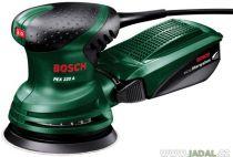 Excentrická bruska Bosch PEX 220 A - 220W; 125mm; 1.4kg