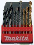 9-dílná sada vrtáků Makita mix D-08660 (5, 6, 8mm)