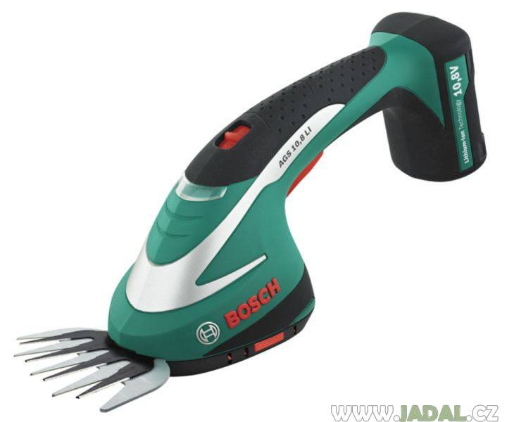 Bosch AGS 10,8 LI - Aku nůžky na trávu