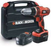 Black-Decker HP146F4BK , Aku vrtačka