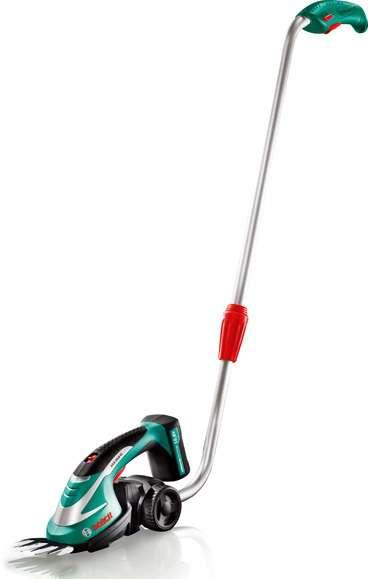 Bosch AGS 10,8 LI Set aku nůžky na trávu + teleskopická tyč