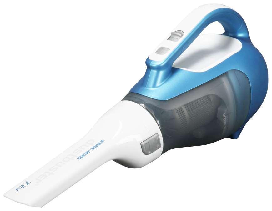 Black&Decker DV7210N 7,2V domácí aku vysavač modrý
