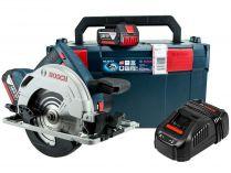 Bosch GKS 18V-57 G Professional - 2x 18V/5.0Ah, 165mm, 1.4kg, L-Boxx, aku kotoučová pila