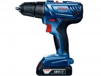 Aku vrtačka bez příklepu Bosch GSR 180-LI Professional - 2x 18V/1.5Ah, 1.6kg, 13mm, v kufru (06019F8100) Bosch PROFI
