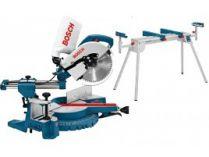 Pokosová pila s pojezdem Bosch GCM 10 S Professional - 1800W, 254mm, 21.5kg + dárek