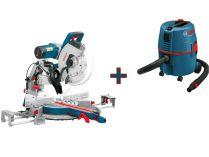 Pokosová pila Bosch GCM 12 GDL Professional - 2000W, 305mm + GAS 20 L SFC