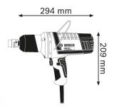 """Bosch GDS 18 E Professional rázový utahovák, 500W, 1/2"""", 250Nm, 3.2kg (0601444000) Bosch PROFI"""