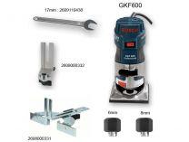 Bosch GKF 600 Professional ohraňovací frézka, 600W, 6mm, 1.5kg, kufr (060160A100) Bosch PROFI