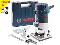 Bosch GKF 600 Professional - 600W, 6mm, 1.5kg, kufr, ohraňovací frézka + dárek