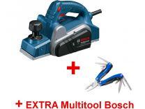 Elektrický hoblík Bosch GHO 6500 Professional - 650W, 82mm, 2.8kg + dárek