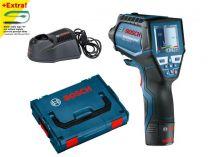 Bosch GIS 1000 C Professional Infra aku termodetektor - teploměr v L-Boxxu + dárek
