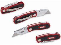 Pracovní skládací nůž / ulamovací nůž Kreator KRT000300 - automatický zámek, 5ks čepele