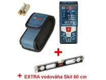 Bosch GLM 50 C Professional laserový měřič vzdálenosti - dálkoměr s technologií Bluetooth + dárek