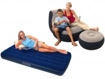 Nafukovací matrace, postele, křesla