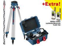 Bosch GOL 32 D Professional + stativ BT 160 a nivelační lať GR 500 + dárek