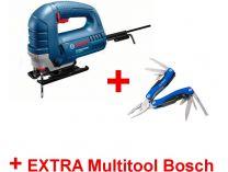Bosch GST 8000 E Professional - 710W, 20mm, 2.5kg, přímočará pila + dárek