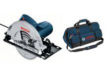 Kotoučová pila Bosch GKS 235 Turbo Professional - 2050W, 235mm, 7.6kg, mafl + dárek