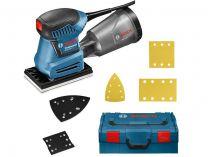 Vibrační bruska Bosch GSS 160 Multi Professional - 180W, 150x100mm, L-Boxx
