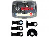 5-dílná sada nástrojů Bosch STARLOCK pro Multifunkční nářadí - oscilační brusky, v krabičce