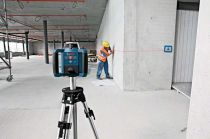 Rotační laser Bosch GRL 300 HV Set Professional + Stativ BT 170 HD + Nivelační lať GR 240 Professional + Kufr (061599405U) Bosch Professional