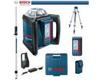 Rotační laser Bosch GRL 500 HV Set + LR 50 Professional + BT 170 HD + GR 240