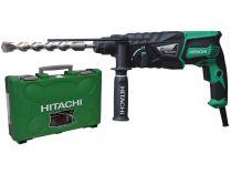 Vrtací kladivo Hitachi DH26PB - 830W, 3.2J, 2.8kg, kufr, pneumatické kladivo SDS-Plus