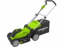 Aku sekačka Greenworks G40LM41 - 40V, 40cm, 50l, 18kg, bez aku