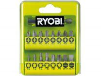 17-dílná sada šroubovacích bitů Ryobi RAK 17 SD