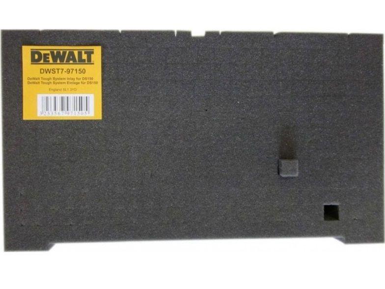 Adaptabilní pěnová vložka do kufru DeWALT DWST7-97150 pro DeWALT DS150 a DS300