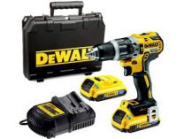 DeWALT DCD790S2 - 2x 18V/2.0Ah XR Li-Ion, 60Nm, 1.6kg, kufr, bezuhl. aku vrtačka bez příklepu