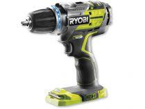 Ryobi R18DDBL-0 - 18V, 60Nm, 1.25kg, bez aku, bezkomutátorová aku vrtačka bez příklepu