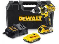 DeWALT DCD795S2 - 2x 18V/1.5Ah XR Li-Ion, 60Nm, 2 rychl., 1.62kg, kufr, bezuhl. aku vrtačka s příkl.