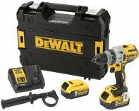 DeWALT DCD991P2-QW - 2x 18V/5.0Ah XR Li-Ion, 2.0kg, kufr, bezuhlíková aku vrtačka