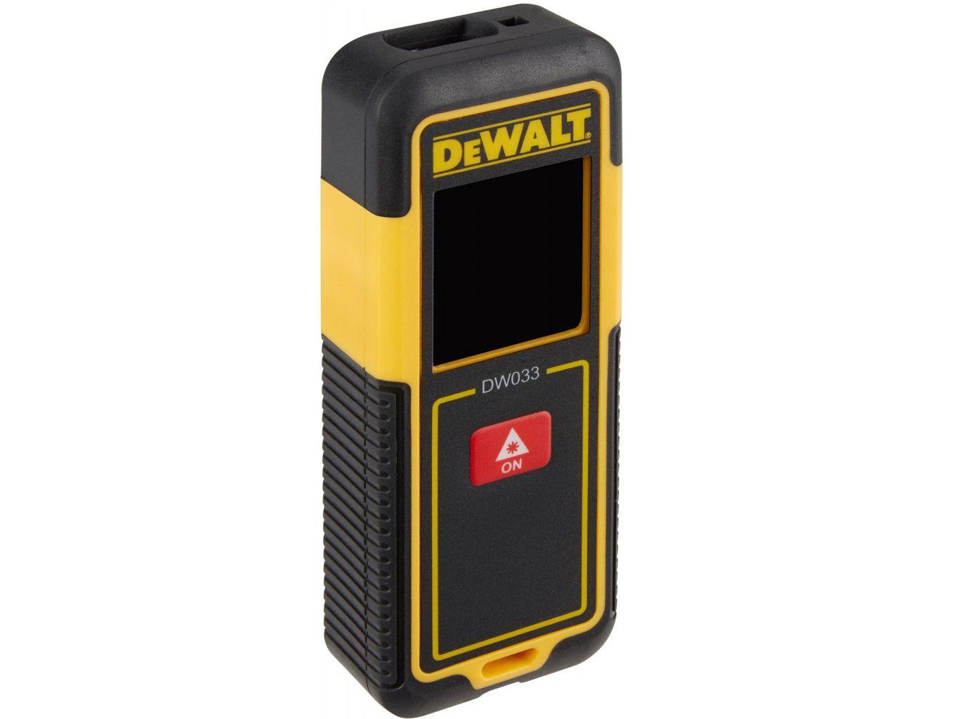 DeWALT DW033-XJ Laserový měřič vzdálenosti - dálkoměr s rozsahem 30m